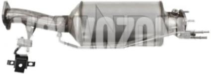 DPF filtr 2.4D/D5 P1 (-2010) C70 II/S40 II/V50 nový typ