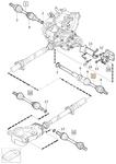 Poloos pravá 3.0 T6/4.4 V8 P3 S60 II/V60 S80 II/V70 III převodovka TF-80SC AWD