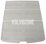 Gumová rohož do kufru 7 míst, 3 dílná SPA XC90 II - světlá