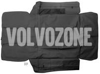 Vinylová ochrana kufru SPA XC90 II - černo-šedá