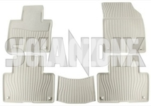 Gumové rohože SPA XC90 II - světlé