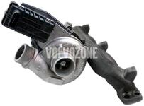 Turbo 2.4D/D5 P1 (-2010) C30/C70 II/S40 II/V50, P3 (-2009) S80 II/V70 III/XC70 II/XC60