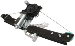 Mechanismus stahování zadního levého okna P2 S60/S80/V70 II/XC70 II s elektromotorem, strana za řidičem
