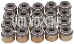 Gufera ventilů (sada 20x) vnitřní průměr 6mm, 5 válec diesel D3/D4/2.4D/D5 P1 P2 P3
