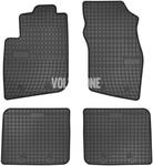 Gumové rohože S40/V40 - černo-šedé