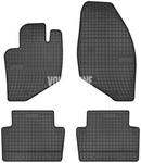 Gumové rohože P2 S60/S80/V70 II/XC70 II - černo-šedé