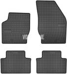 Gumové rohože P2 XC90 - černo-šedé
