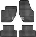 Gumové rohože P1 V40 II(XC) - černo-šedé