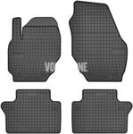 Gumové rohože P3 S60 II(XC)/V60(XC) S80 II/V70 III/XC70 III - černo-šedé