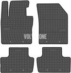 Gumové rohože SPA XC60 II - černo-šedé