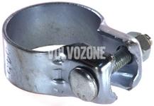 Kovová spona výfuku - katalyzátor - střední tlumič 1.6/1.8/2.0 (-1999) S40/V40