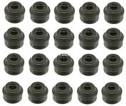 Gufera ventilů (sada 20x) vnitřní průměr 6mm P80, P1, P2, P3