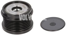 Volnoběžka alternátoru 150A/180A P1 P3 1.6D2 C30/S40 II/V40 II(XC)/V50 S60 II/V60 S80 II/V70 III