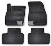 Gumové rohože CMA XC40 - černo-šedé